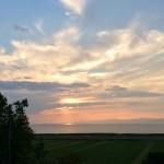 Coucher de soleil - Auberge Cap Martin, La Pocatière