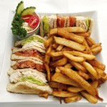 Club sandwich - Auberge Cap Martin, La Pocatière