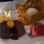 dessert_fondant_chocolat Auberge Cap Martin